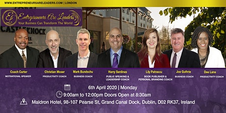 Entrepreneurs Are Leaders Workshop 6 April 2020 tickets