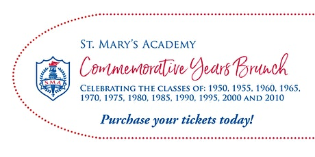 SMA Commemorative Years Brunch 2020 tickets