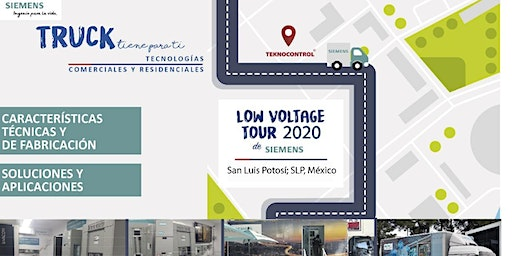 LOW VOLTAGE & PRODUCTS TRUCK TOUR 2020 SIEMENS