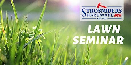 Lawn Seminar tickets