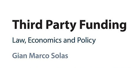 Third Party Funding - Book Launch Event tickets