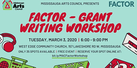 FACTOR - Grant Writing Workshop tickets