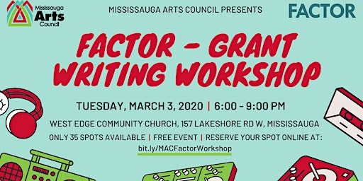FACTOR - Grant Writing Workshop