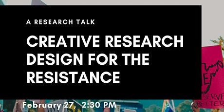 Creative Research Design for Resistance with Bri Wiens & Shana MacDonald tickets