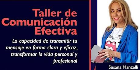Taller de comunicación efectiva entradas
