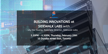 Building Innovations at Sidewalk Labs with  Lily Hui Huang tickets