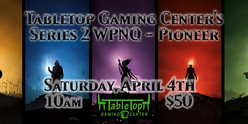Tabletop Gaming Center's Series 3 WPNQ - Pioneer