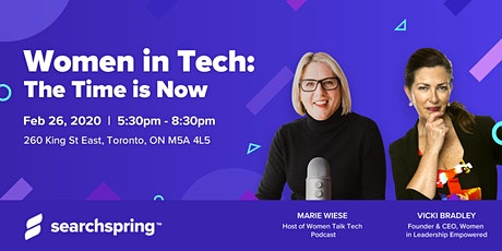 Women in Tech: The Time is Now tickets