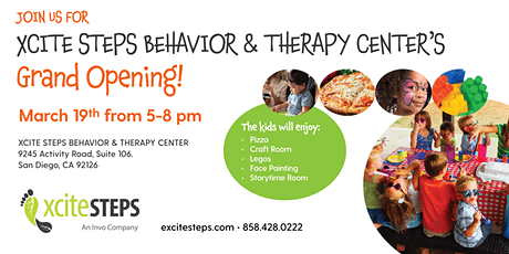 Xcite Steps Behavior & Therapy Center's Grand Opening tickets