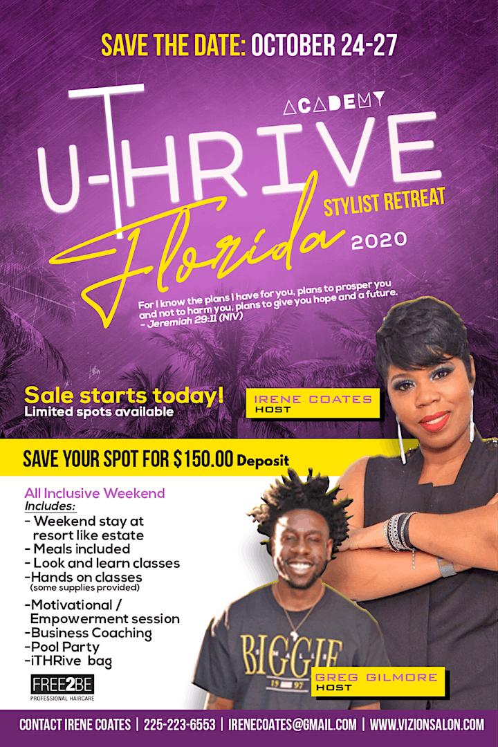 U-Thrive Hair Academy Stylist retreat image