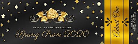 2020 RLCA Prom tickets
