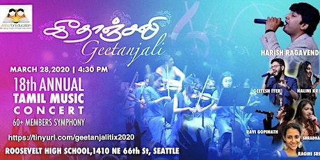 Asha Geetanjali-Tamil Live Music concert tickets