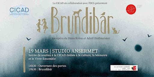 Opéra Brundibár - Une soirée en faveur des actions de la CICAD