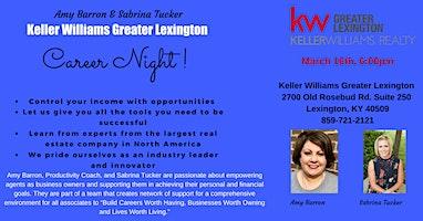 Career Night - Keller Williams Greater Lexington