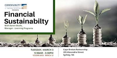 Financial Sustainability - CAPE BRETON