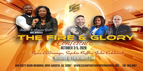 The Fire and Glory Conference tickets