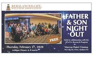 2020 Father & Son Night Event