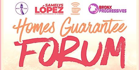 Homes Guarantee Forum tickets