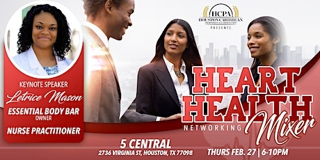 HCPA Heart Health Mixer tickets