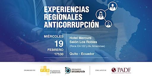 Experiencias Regionales Anticorrupción