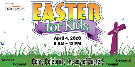 Easter For Kids tickets