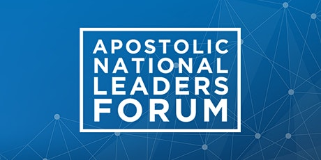 Apostolic National Leaders Forum 2021 boletos