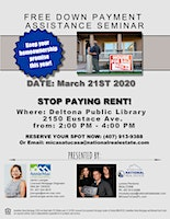 Free Down Payment Assistance Seminar