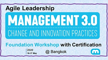 Agile Leadership - Management 3.0 Foundation Works