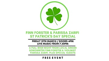 Finn Forster & Parissa Zarifi // St Patrick's Day Special