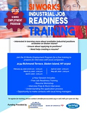 SI Works Job Readiness Training tickets