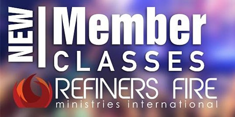 New Members Class at Refiner's Fire Ennis - January tickets