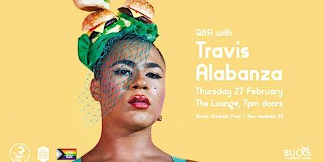 Q&A with Travis Alabanza tickets