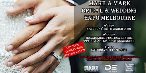 Make A Mark Bridal & Wedding Expo Doncaster