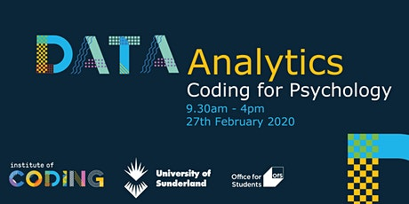 Data Analytics Bootcamp for Psychology Students tickets