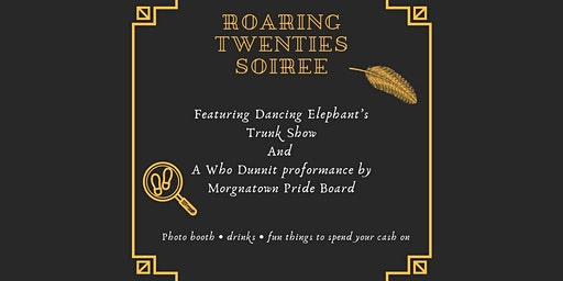 Roaring Twenties Soirée Featuring Dancing Elephant's Trunk Show