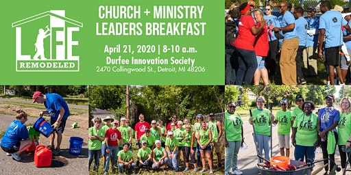 Church + Ministry Leaders Breakfast with Life Remodeled