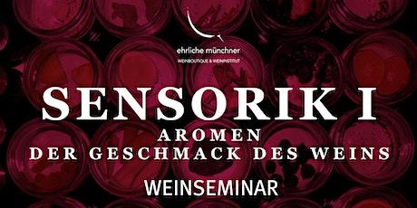Weinseminar – Sensorik I – Aromen – Der Geschmack des Weins Tickets