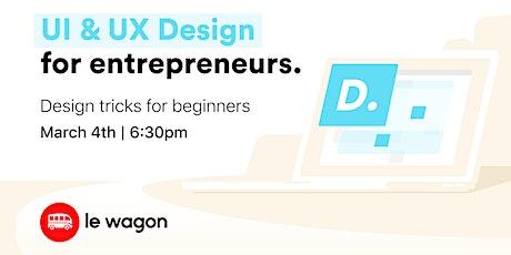 UI & UX Design Crash Course tickets
