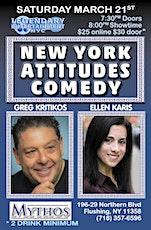 New York Attitudes Comedy Show tickets