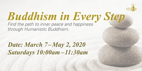 English Dharma Classes - Buddhism in Every Step tickets
