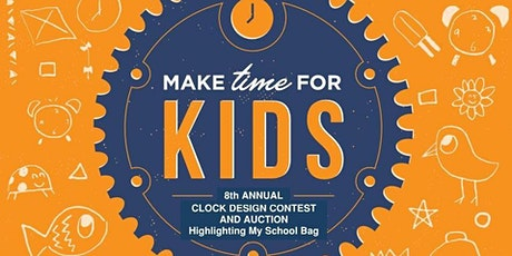 CASA Partners Make Time for Kids Clock Auction 2020 tickets