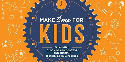 CASA Partners Make Time for Kids Clock Auction 2020