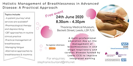 Holistic Management of Breathlessness in Advanced Disease tickets