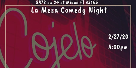 Comedy Night at La Mesa tickets