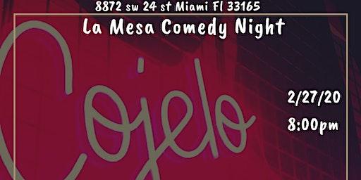 Comedy Night at La Mesa
