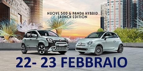 Presentazione Fiat Panda e 500 Hybrid Borgaro Torinese biglietti