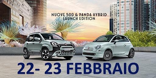 Presentazione Fiat Panda e 500 Hybrid Borgaro Torinese