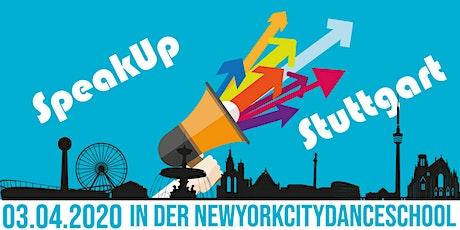 SpeakUp Stuttgart Tickets