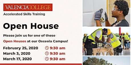 Construction Programs Open House tickets