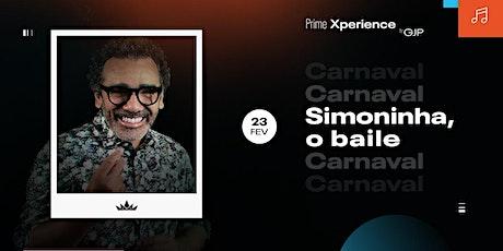 Simoninha, O Baile ingressos